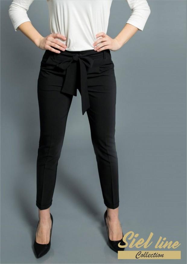Дамски панталон с колан в талията