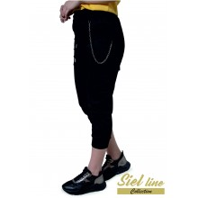 Спортен панталон 7/8 в черно