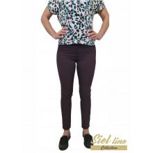 Дамски панталон  в цвят бордо