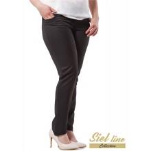Дамски панталон с леко скoсен крачол