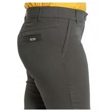 Дамски панталон в маслено зелено