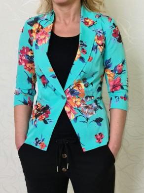 Вталено дамско сако с ревер