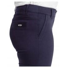 Елегантен дамски панталон за есента в син цвят